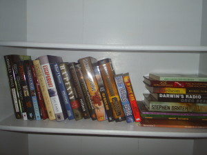 The collection of Worldcon books